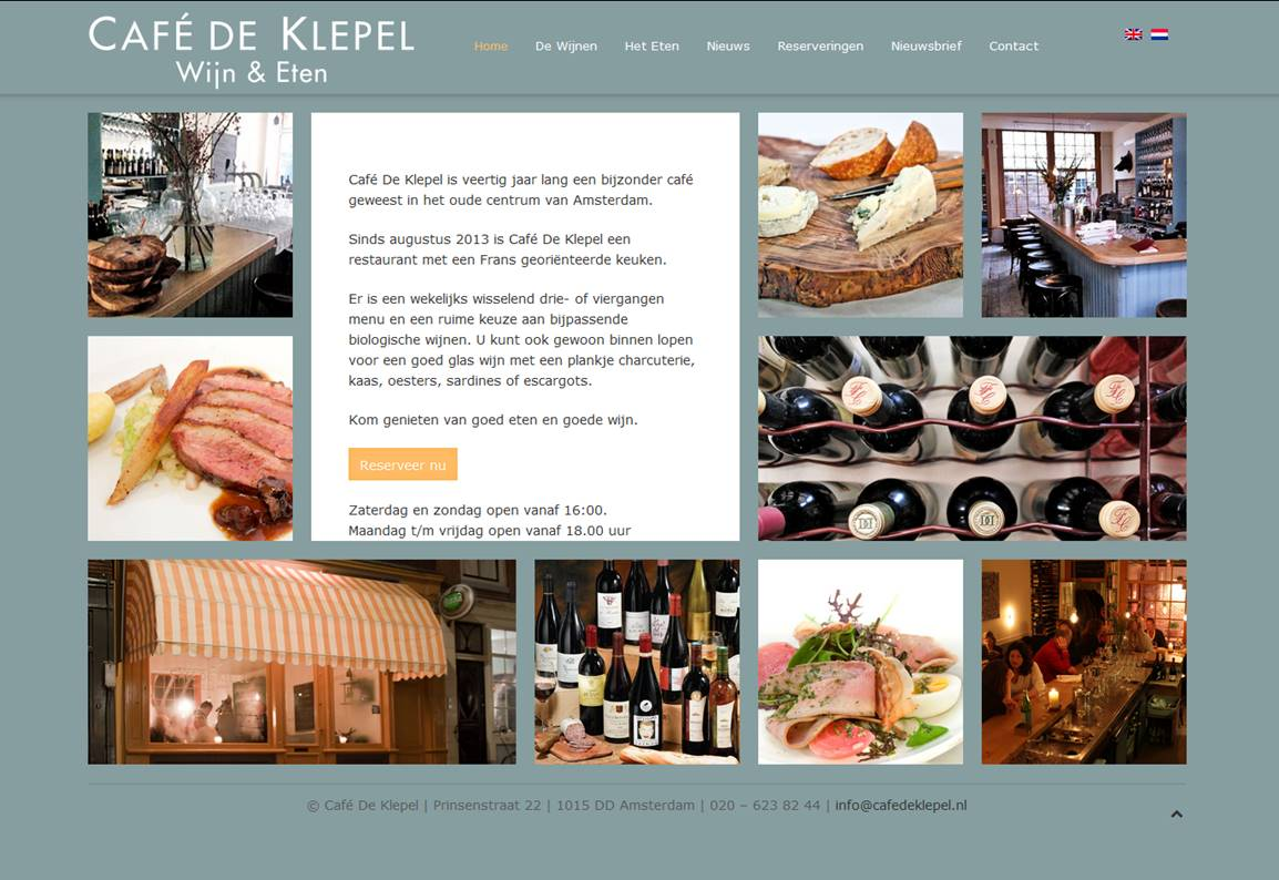Wijnrestaurant Café De Klepel