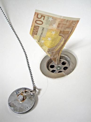 advertentie geld verspillen